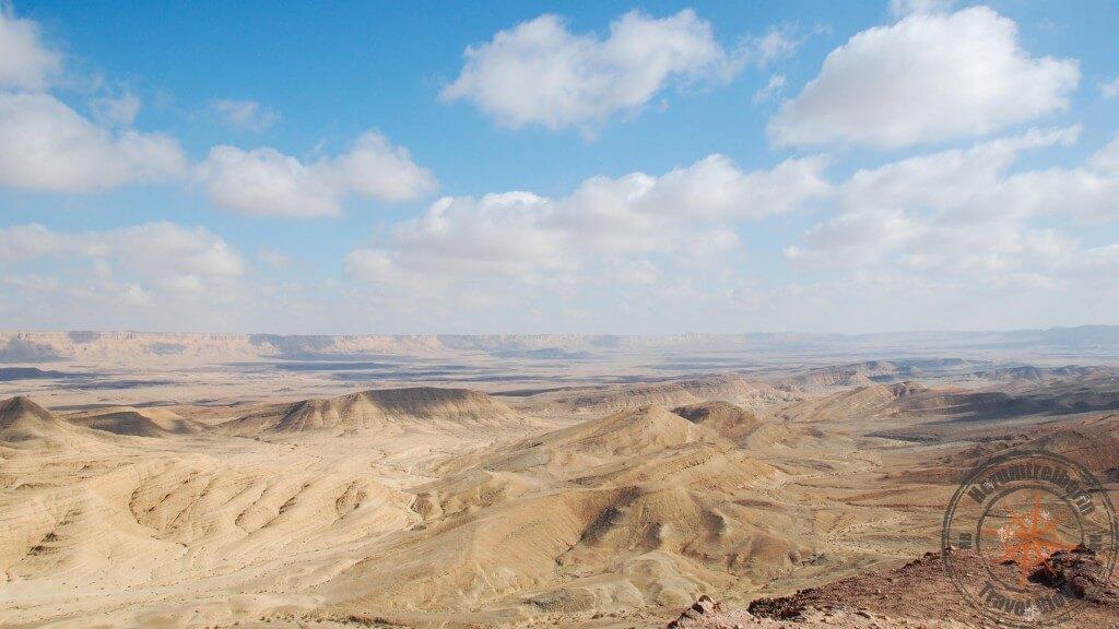 Israel Maktesh Ramon-Krater Ramons Zahn Aussicht