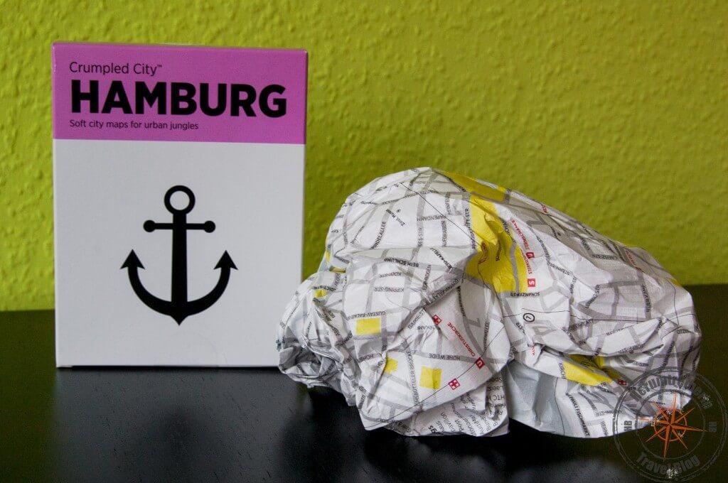 Crumpled City Hamburg