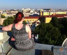 St. Petersburg rooftop tour