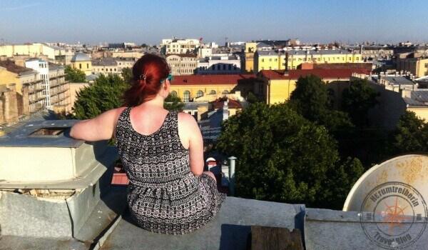St. Petersburg rooftop tour