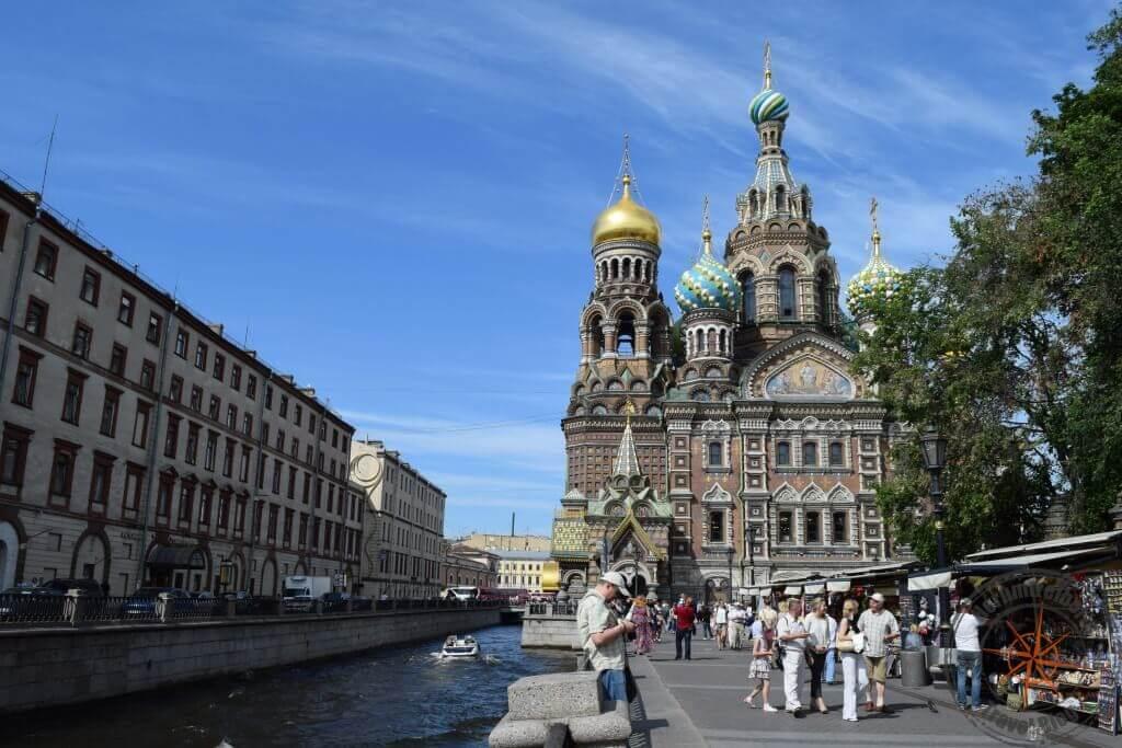 St Petersburg Auferstehungskirche