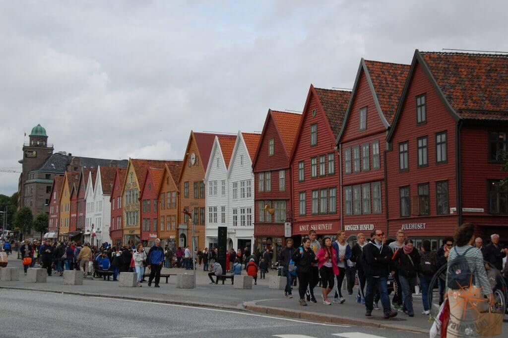 Costa Fortuna Kreuzfahrt - Bergen, Norwegen