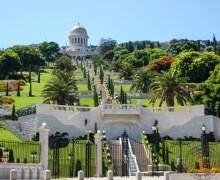 Bahai Gärten, Haifa, Israel