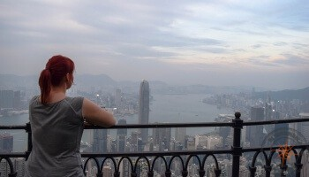 Hong Kong Victoria Peak Panorama