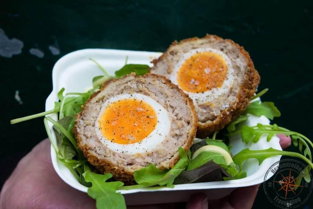 Essen auf dem Borough Market, London