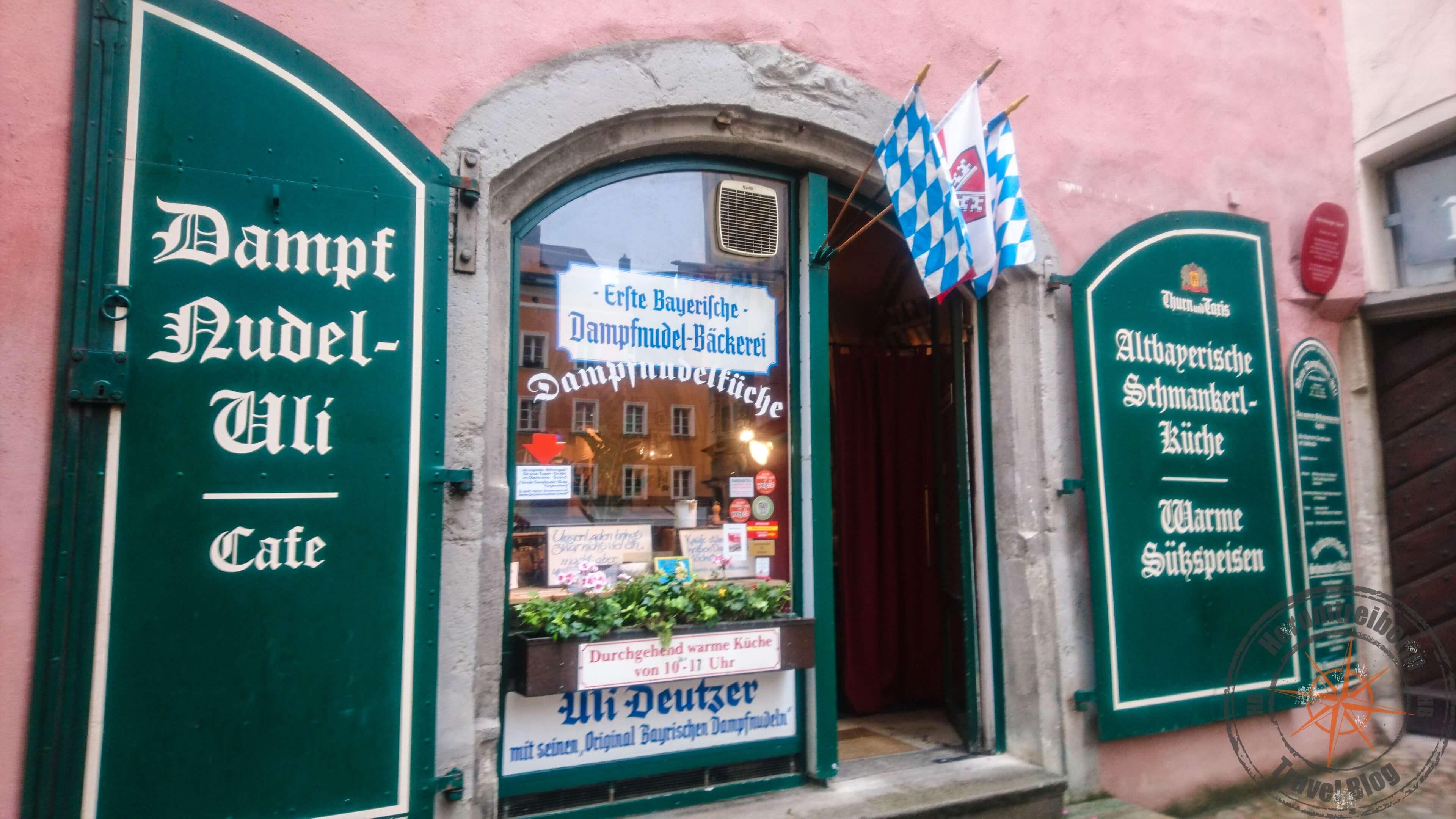 Places to eat in Regensburg, Deutschland - Herumtreiberin
